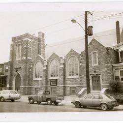 Church building, exterior photographs, c. 1980