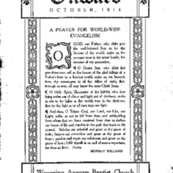 The Onward (Vol 1., No. 8, October, 1911)