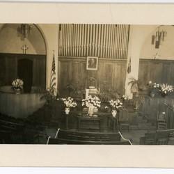 Front of Sanctuary, c. 1940