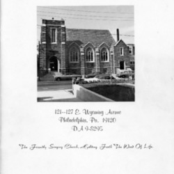 Church directory, with photographs, 1977